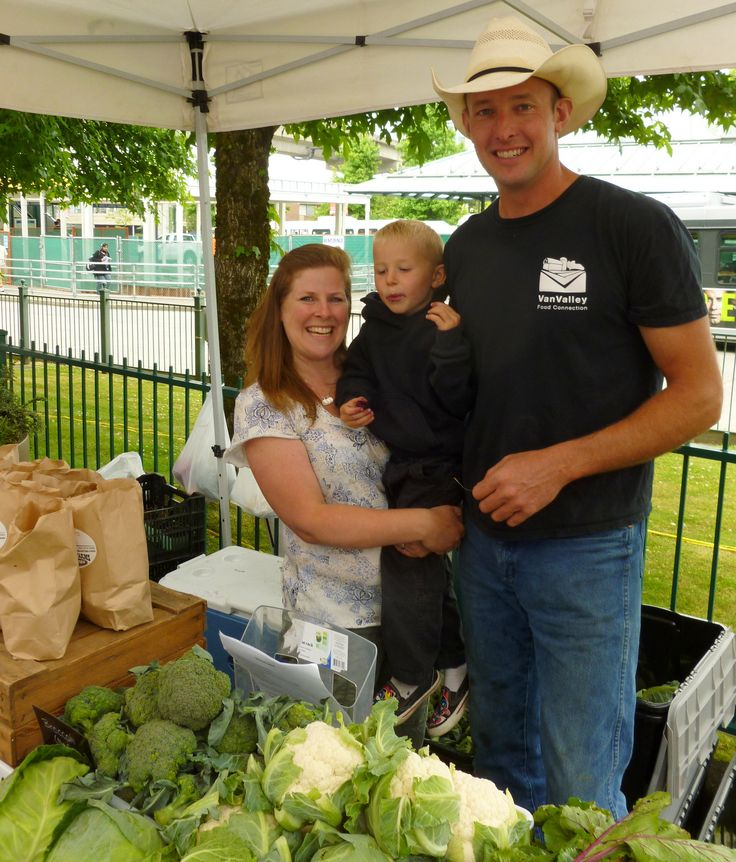 Surrey Farmers Market ... Ron Tamis and his wife Pam operate Rondiriso Farms in Surrey