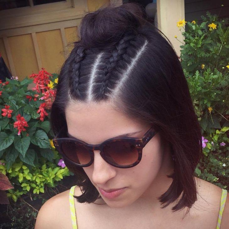 21 Glamourose Hollandische Zopffrisuren Zum Ausprobieren Zopffrisuren Kurzhaarfrisuren Haarschnitt