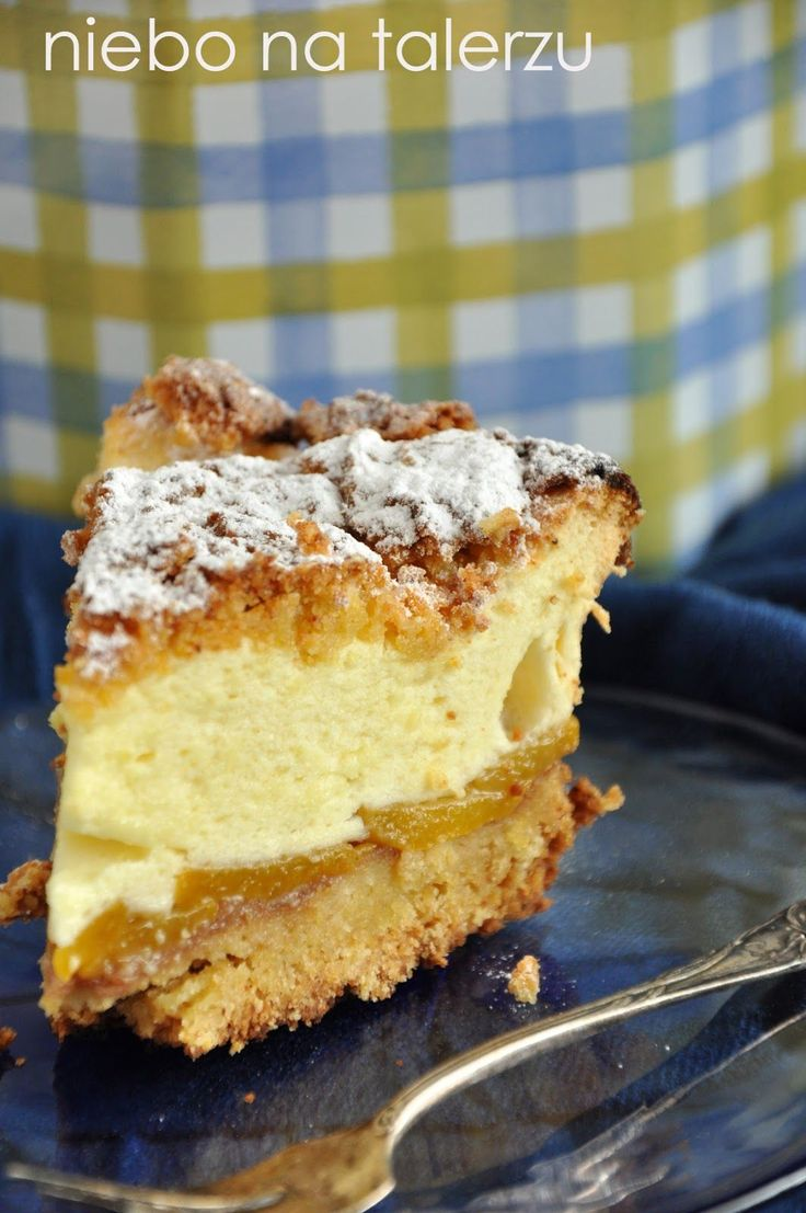 niebo na talerzu: Najlepsze kruche ciasto z brzoskwiniami i pianką
