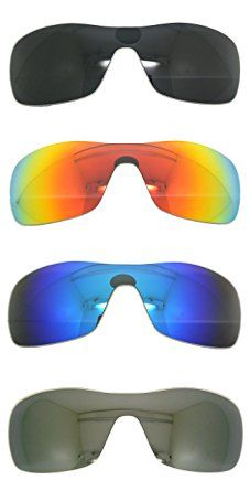 7fbac3bf04c Set of 4 Polarized Replacement Lenses for Oakley Antix Sunglasses NicelyFit  Review