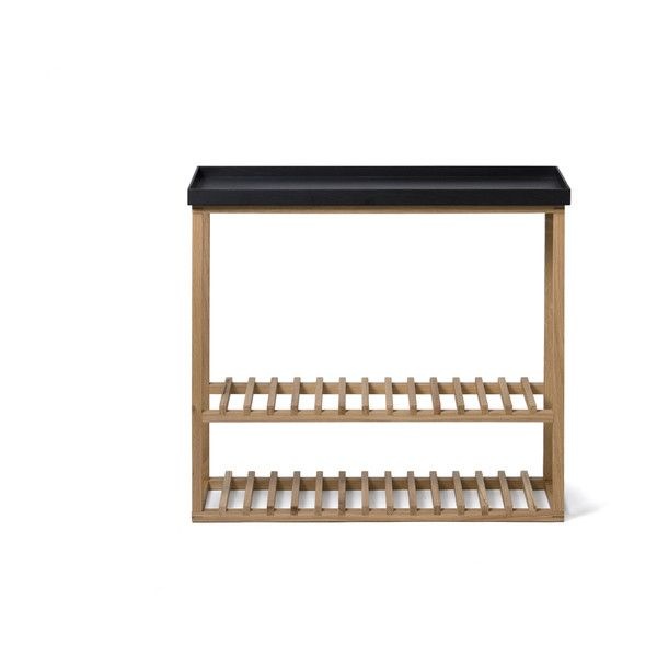 wireworks hello storage console table black u20ac310 liked on polyvore featuring
