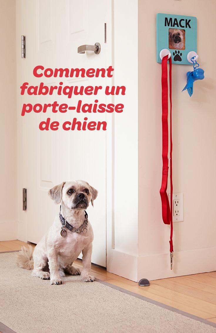 Grâce à ce porte-laisse, vous pourrez y suspendre les sacs à excréments et la laisse de votre chien. Vous ne les perdrez plus!