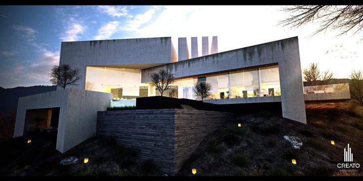 Cyprus House by Creato Arquitectos