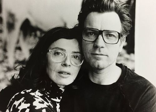 ewanicorns:  Ewan McGregor and his wife, Eve Mavrakis...