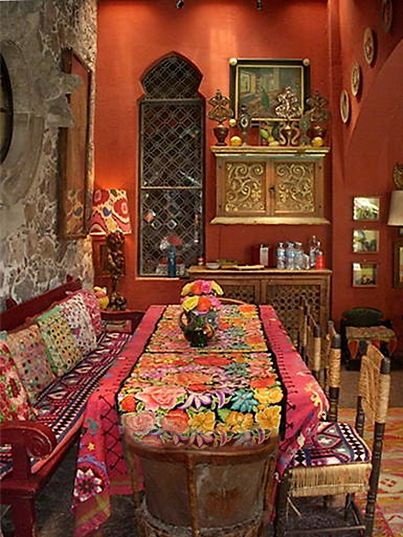 Boho Dining Room Boho Pinterest Room Moroccan Decor