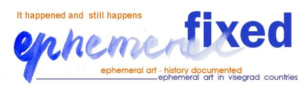 Ephemeral fixed - a review by Kata Balazs