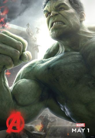 Avengers: Age of Ultron Hulk character poster.