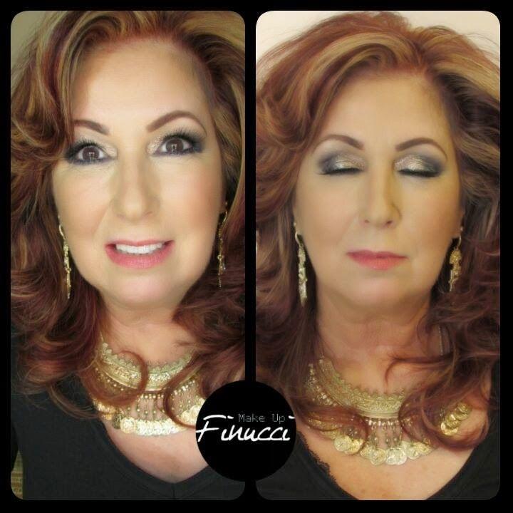 :::: Finucci Make Up ::::: Maquiagem Social Maquiagem para pele madura