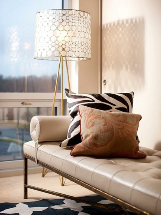 Love The Chaise Lamp And Pillow