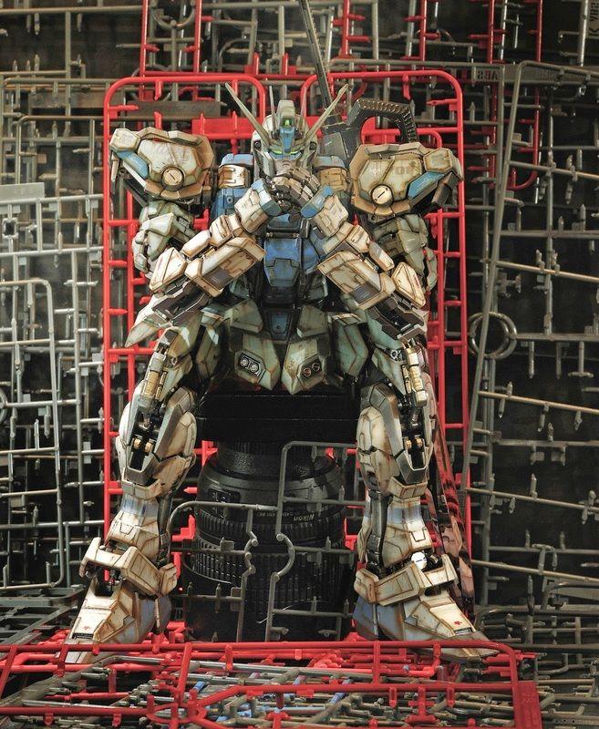 Perfect Grade 1/60 Strike Rouge Customized Build Asrul Hazimin - Gundam Toys Shop, Gunpla Model Kits Hobby Online Store, Diorama Supply, Tamiya, Modo Paint, Bandai Action Figures Supplier