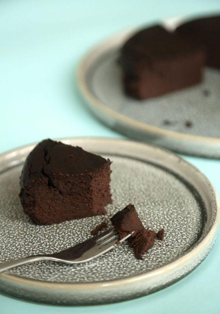 Vegan 5-ingredient chocolate cake <3