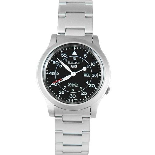 Buy authentic SNK809K1 Seiko 5 Automatic Watch at lowest price. Fast express shipping USA, Australia, New Zealand, Canada, Japan, Hong Kong, Singapore