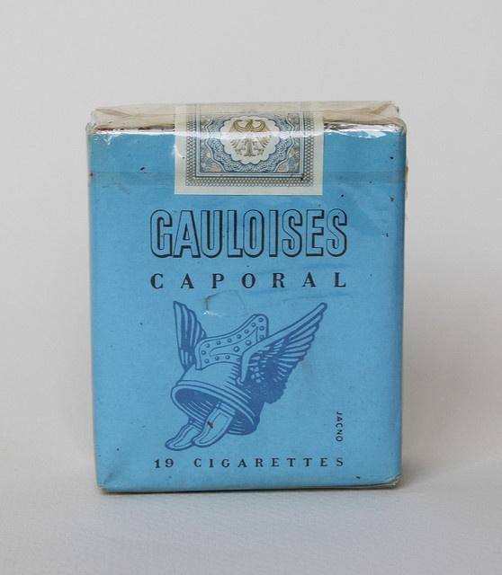Gauloises Caporal had een heel aparte geur