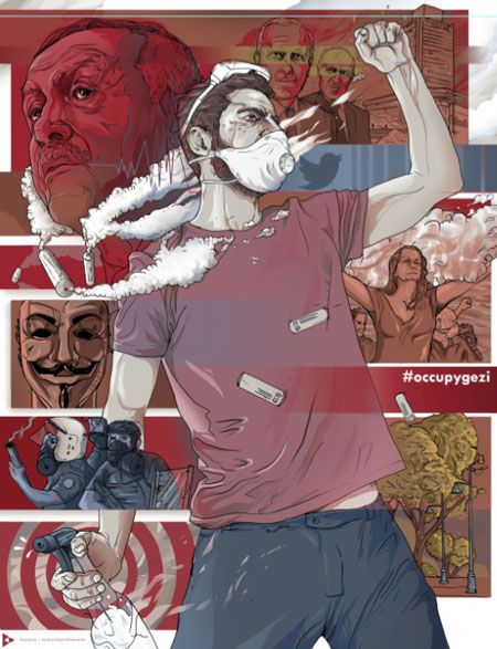 #DirenGeziParkı / #OccupyGezi 06.2013