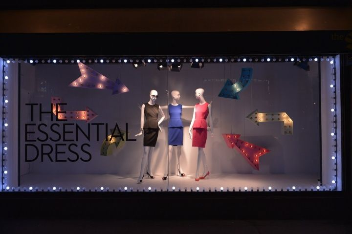 The strong point of Hudson's bay is that it has its own retail stores as a department store.The Bay show windows 2013, Toronto. #MKM915 #showwindow #fashion #thebay