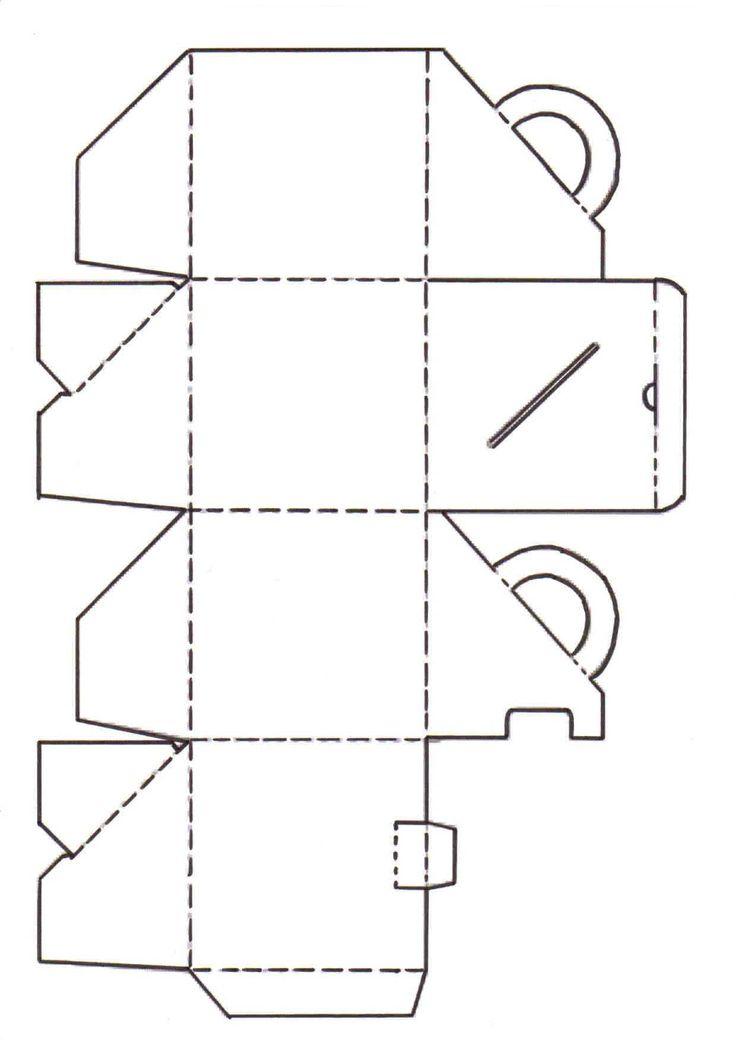 bastelvorlagen f r taschen und schachteln teil 1. Black Bedroom Furniture Sets. Home Design Ideas