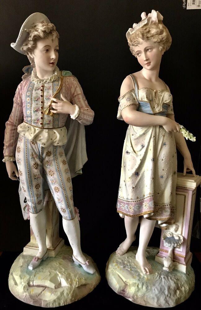 Antique French Vion Et Baury Pair