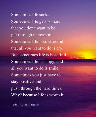 Pin By Kissmybadonadonk On Quotes Life Gets Hard Quotes Get Hard Quotes Life Is Hard Quotes