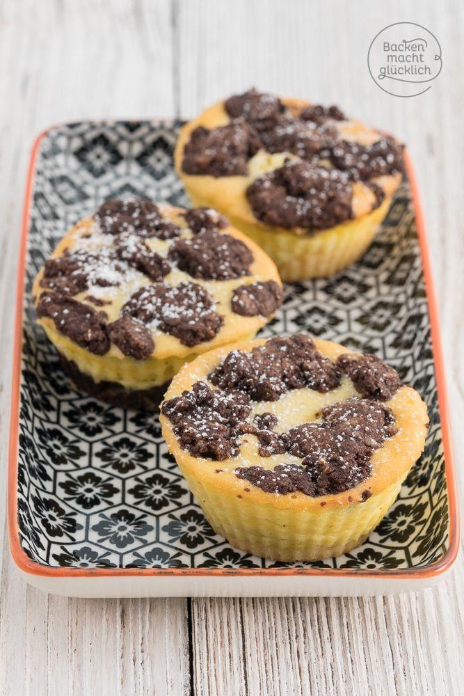 Schoko-Kaesekuchen-Muffins