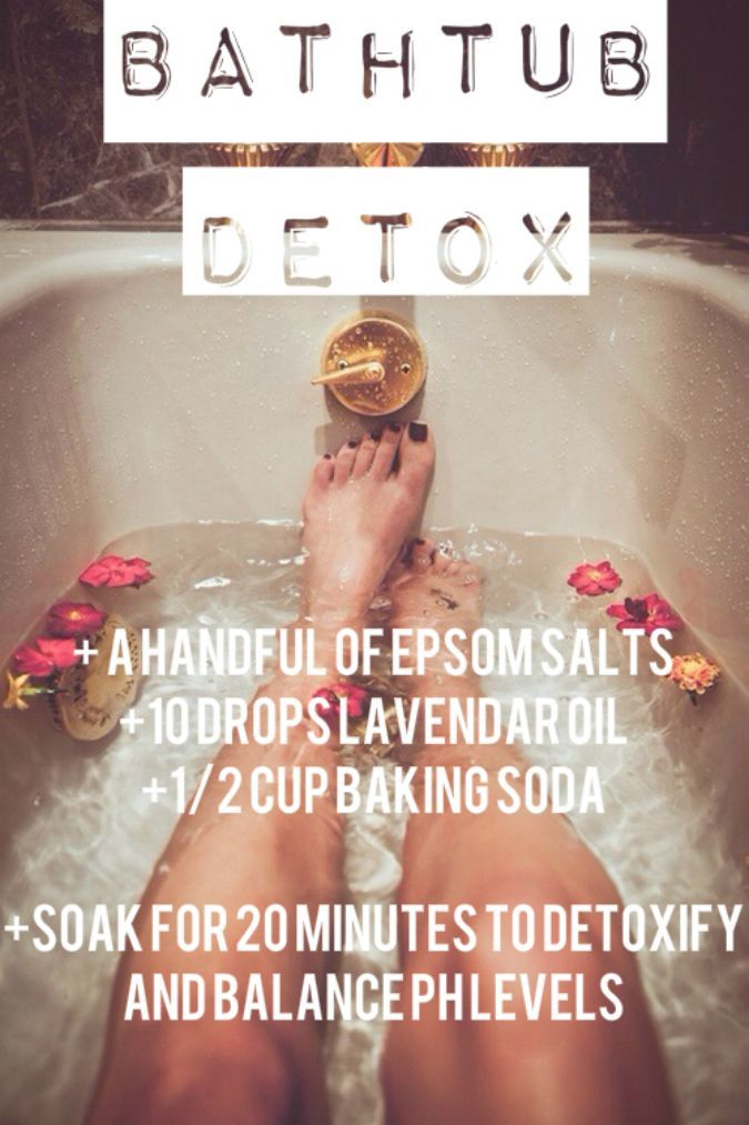 Try This except make it 4 cups of Epsom Salts: Best Bathtub Detox Experience You Will Ever Have | DIY Beauty Fashion