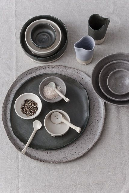Katherine Mahoney, Ceramic artist. #bowl #plate #spoon #handmade #clay #art #texture #ceramic #pottery #home #house #kitchen #decorate #white #stoneware #glaze #rustic #ceramics #australianceramics #propstyling #meals