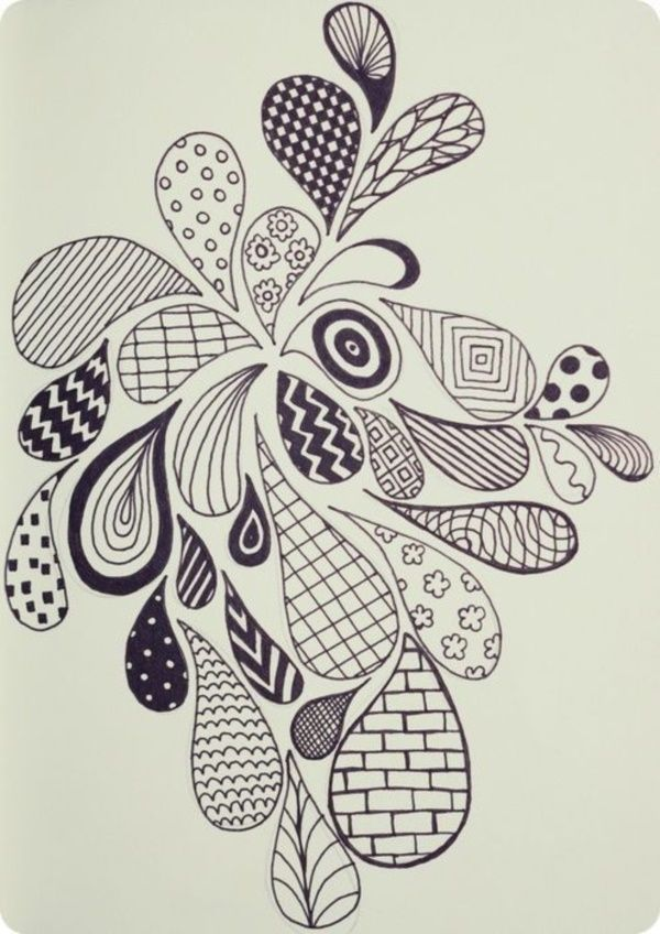 12 Easy Doodle Projects For Kids To Try Easy Doodle Art Zen Doodle Patterns Doodle Art