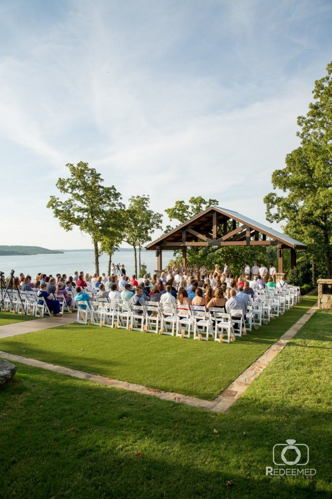 Wedding Ceremony At THE SPRINGS Venue Just North Of Tulsa Oklahoma Rustic