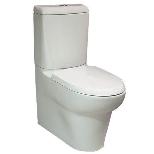 RAK Ceramics  Infinity Close Coupled Back to Wall WC Pan and Cistern with 4/2.7 litre flush, Soft Close Wrap Over Urea Seat and SCHKITS6 comes with high quality construction and design, available at low price and fast delivery for all toilet at bathroomand.co.uk.