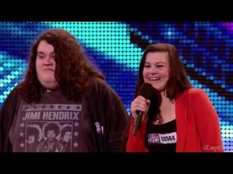 Jonathan and Charlotte - Opera Duo @ Britain's Got Talent 2012 Auditions...WOW!
