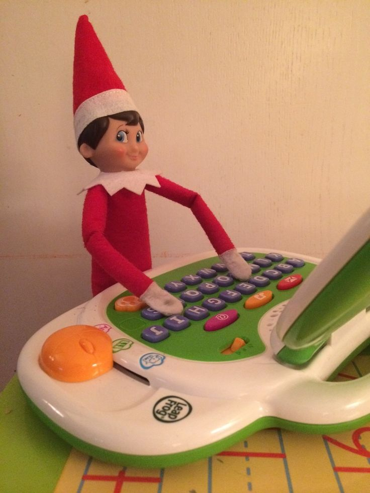 Simple Elf on the Shelf Ideas