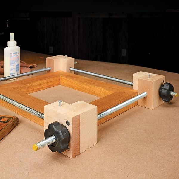 Low-Cost Frame Clamp | Woodsmith Tips