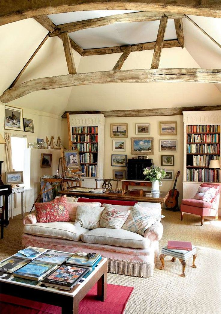 English Drawing Room: 770 Best Country Cottage Living-room Images On Pinterest