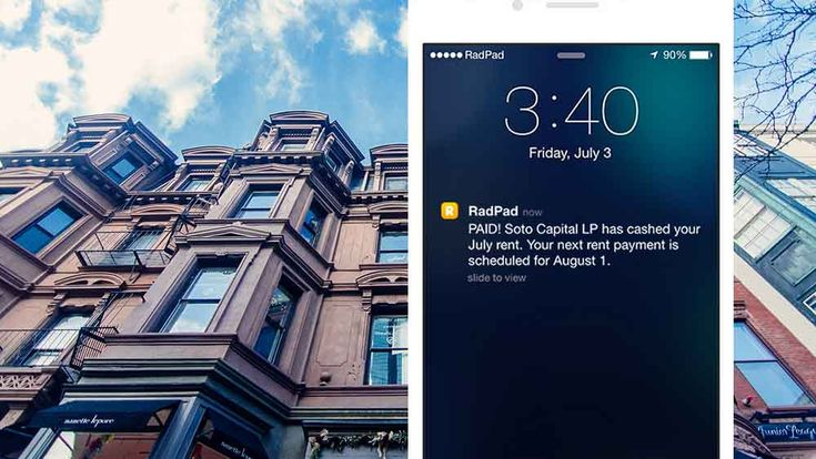 Mail Rent Checks from Your PhoneSend your rent check through an app with RadPad