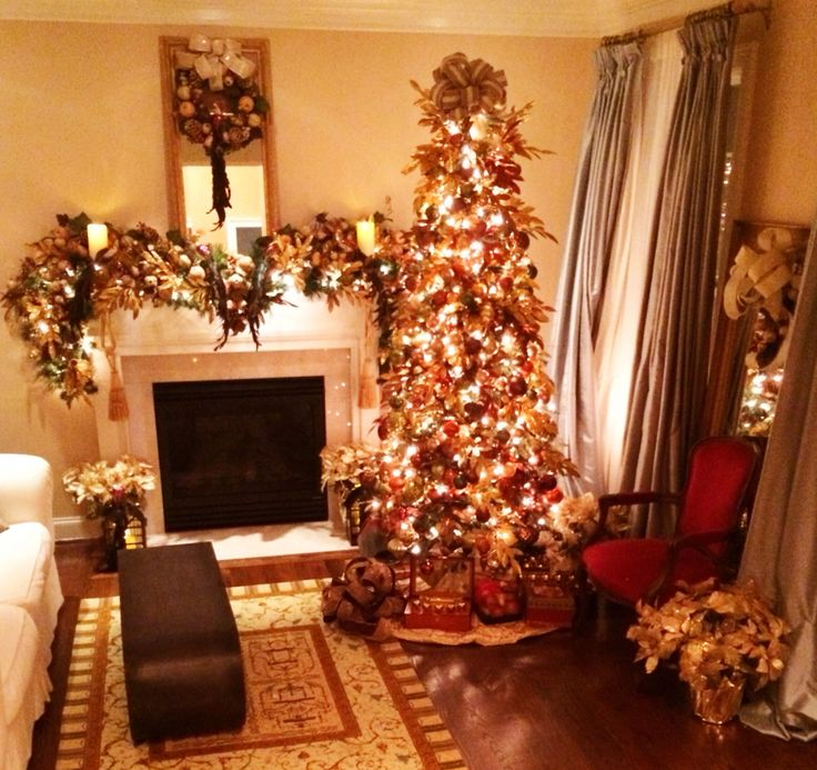 1488 best images about christmas mantle on pinterest