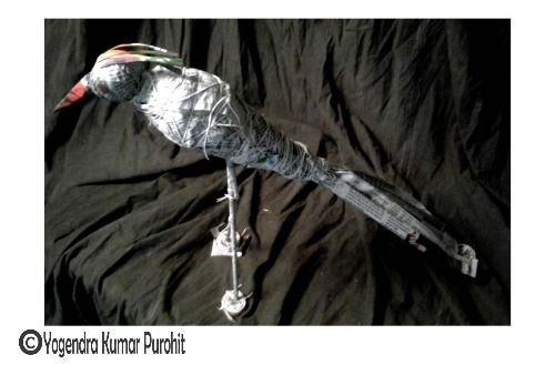 Paper sculpture -36 - Cost   10, 000/- Rupees