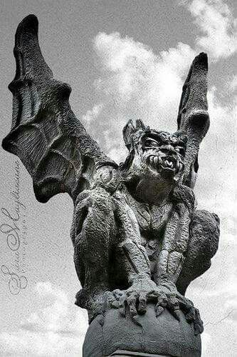 35 best cat gargoyle images on pinterest cat art dragons and kitty cats. Black Bedroom Furniture Sets. Home Design Ideas