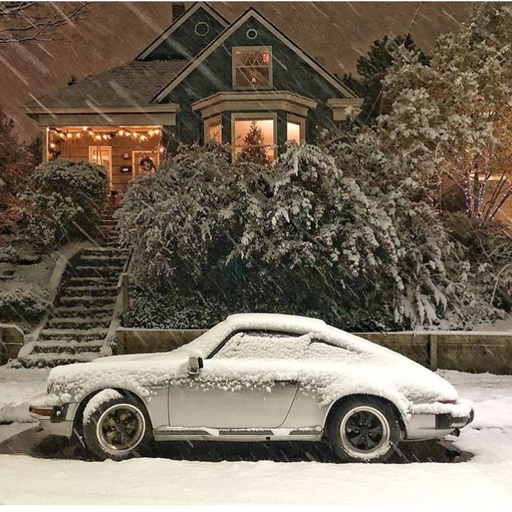 Porsche 911 Cars In Front Of