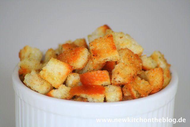 New Kitch On The Blog: Croutons selber machen: Vom Frühstücksrest zum qua...