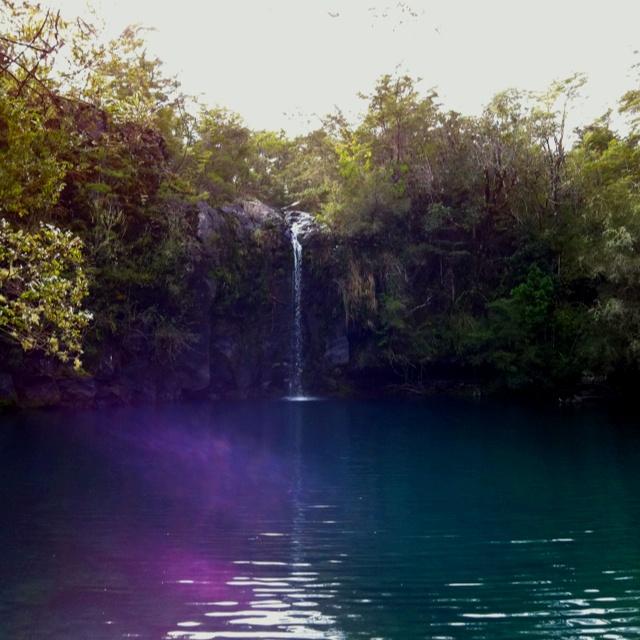 Laguna verde, Saltos del Petrohue.. Parque Nacional Vicente Perez Rosales