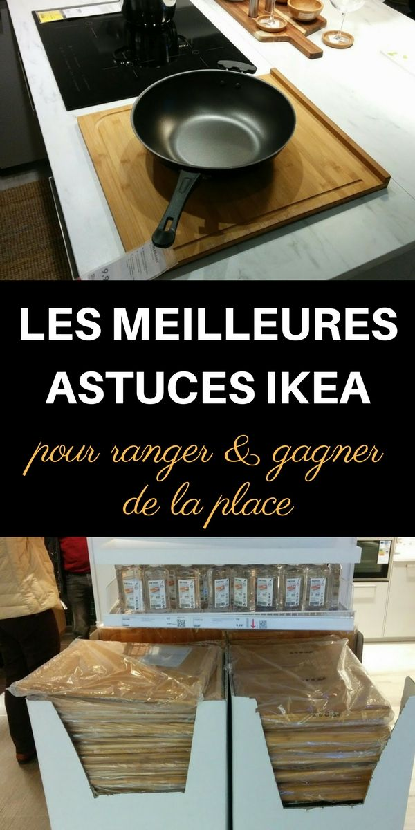 J'ai visité IKEA et j'en ai profité pour noter des astuces et des idées pour ranger et gagner de la place ! Découvrez ces astuces, idées et conseils dans l'article.