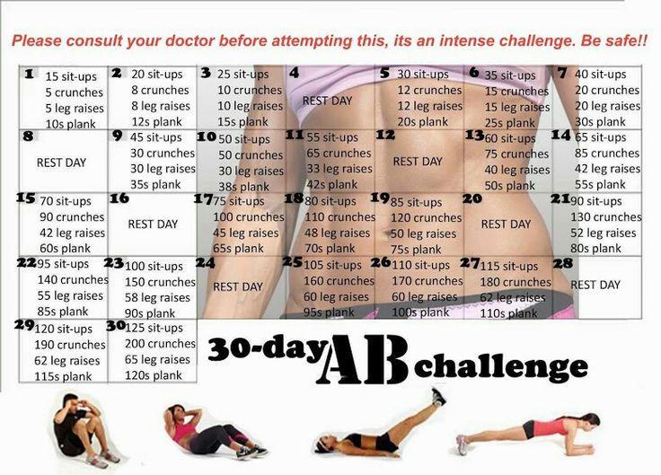 Dit ga ik deze maand maar eens proberen, kijken of ik mijn buik weer een beetje strak kan krijgen :)