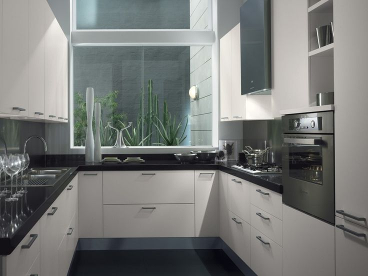 Marvelous Modern U Shaped Kitchen Designs Part 17