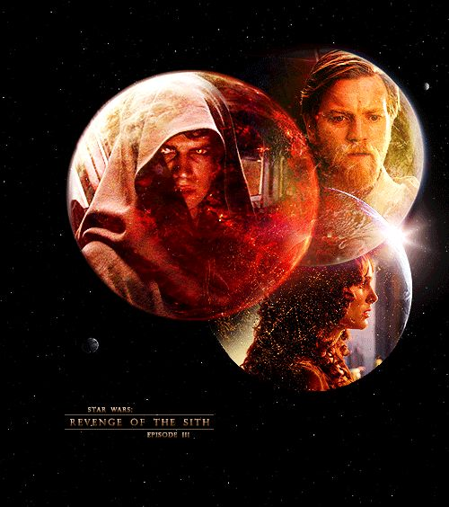 Sometimes the end is only the beginning - Obi-Wan, Anakin/Vader & Padmè - Star Wars Episode III: Revenge of the Sith