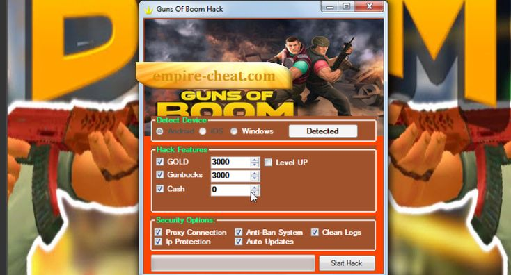 Guns Of Boom Hack Cheat Tool Generator               The best way to hack Guns of Boom Actually it is every easy, no coding, hacking, programming skills needed.