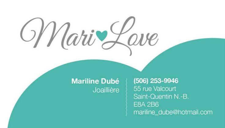 MariLove Jewellery/ Bijoux MariLove