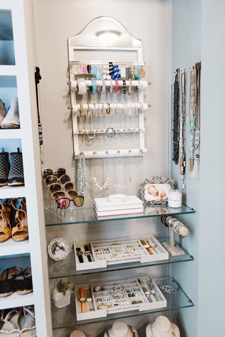 Ideas de organización de armario principal