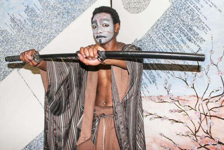 (by Steven Lang) Hanamichi - Directed by Tristan Jacobs. Performer: Sandisile Dlangalala