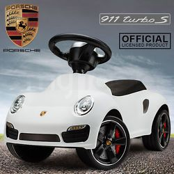 Ride-On Kids Cars Toy Licensed Ferrari 458 Speciale A and Porsche 911 Turbo S
