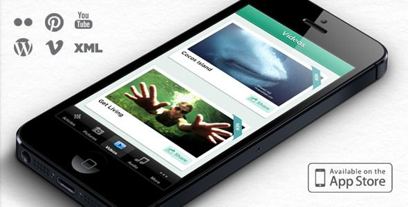 Emerald : Full iPhone App - CodeCanyon Item for Sale
