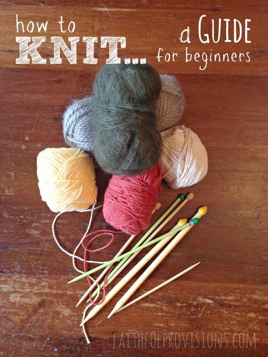 Want to give knitting a try but not sure where to start? Check out this easy knitting beginners guide!